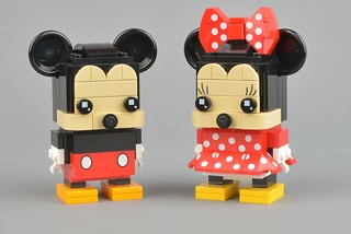 Review: Mickey and Minnie BrickHeadz