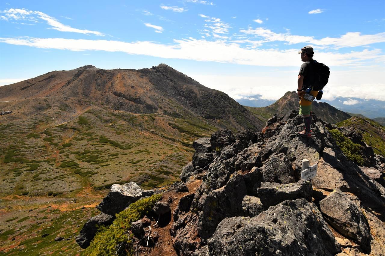 摩利支天山から眺める御嶽山