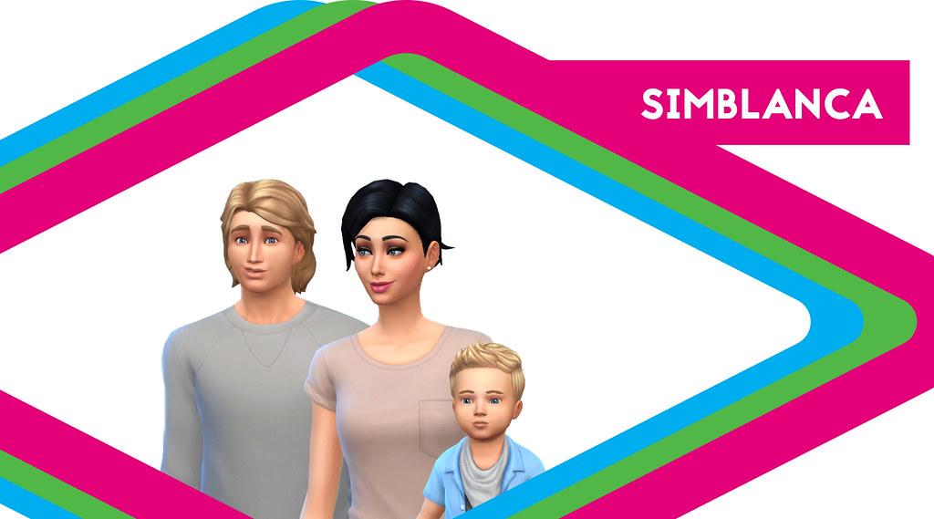 Sims de antaño: Los Simblanca