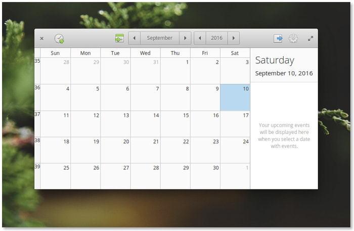 Elementary-OS-Calendar-App