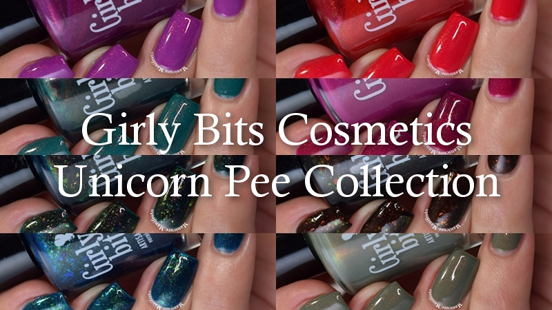 Girly Bits Polish Unicorn Pee Collection