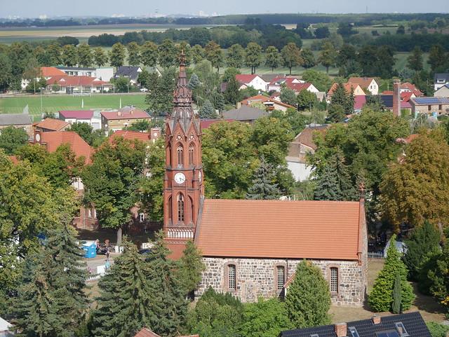 Kranfahrt: Paul-Gerhardt-Kirche