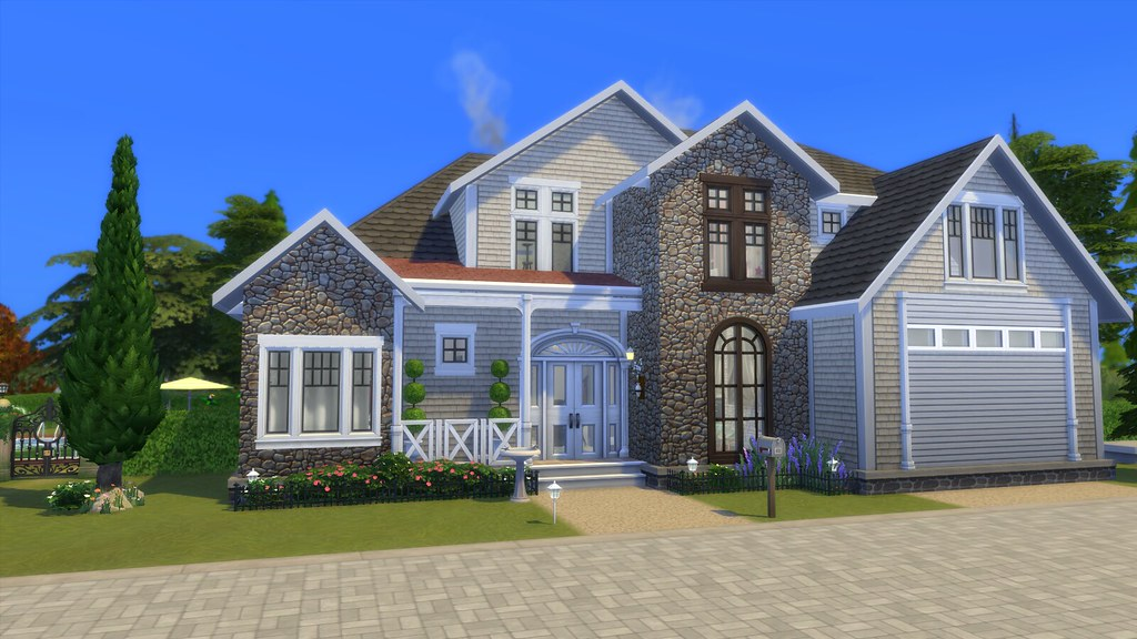 Descarga: Residencia Costeada para Los Sims 4