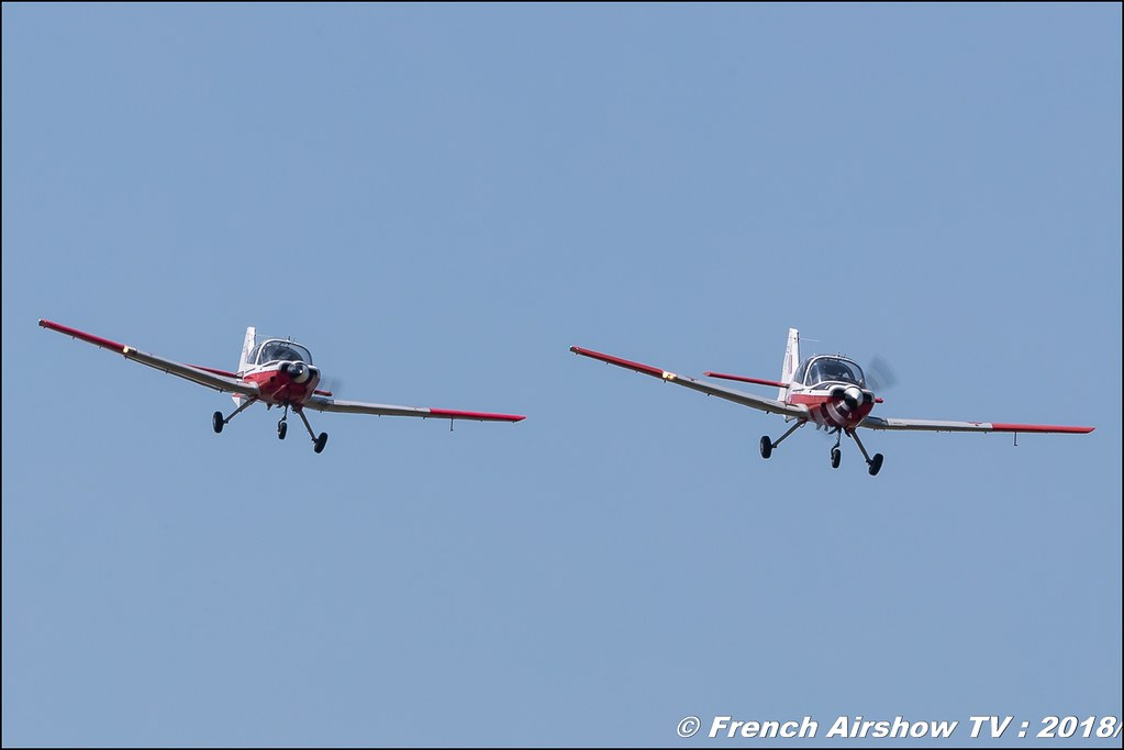 Bulldog Team TMK1 avion bulldogteampatrouille Meeting de l Air BA-133 Nancy Ochey 2018 FOSA Armee de l Air Canon Sigma France contemporary lens Meeting Aerien 2018
