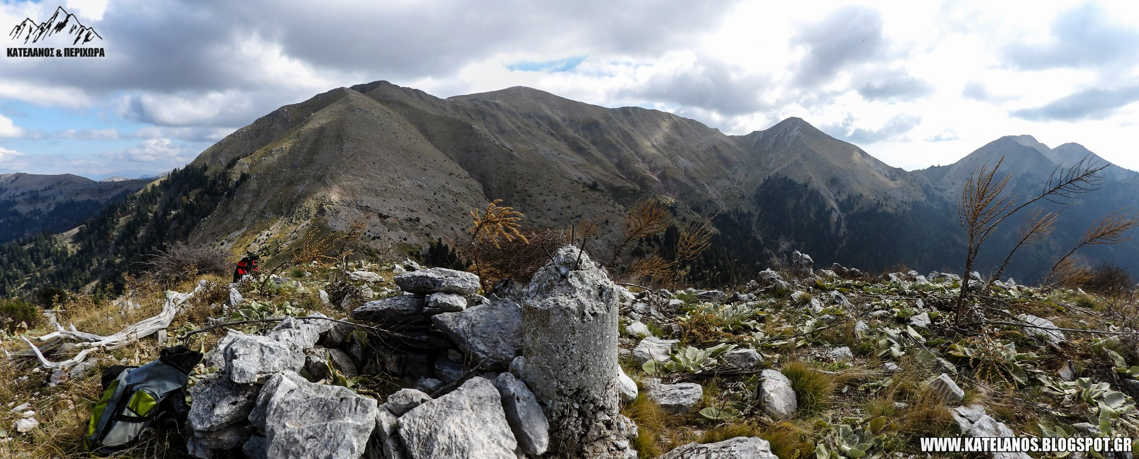 τριγωνομτερικό σημείο κορυφή γερακούλα παναιτωλικό όρος