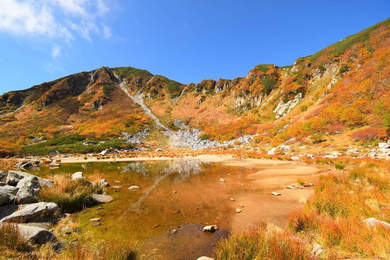 木曽駒ヶ岳・濃ヶ池の紅葉