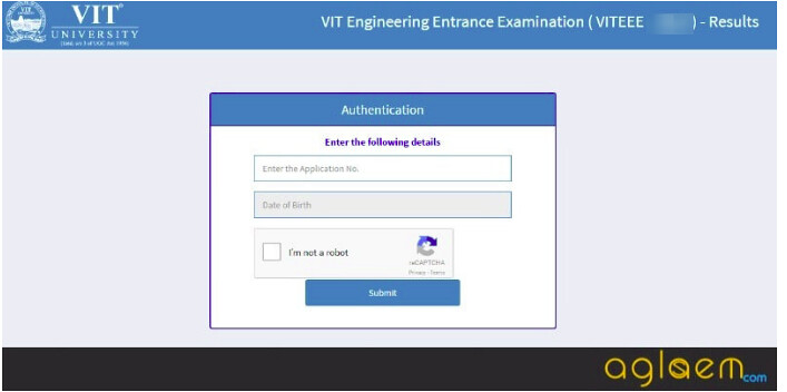 VITEEE 2019 Login - Access Here VIT University Login for Entrace Exam