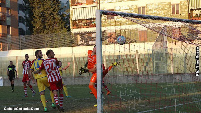 Il gol decisivo di Silvestri