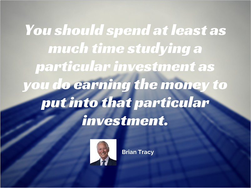 Brian Tracy investment advice