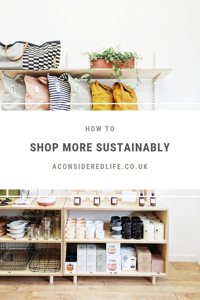 Shopping Sustainably