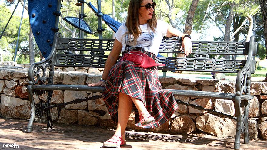 falda de cuadros Escoceses
