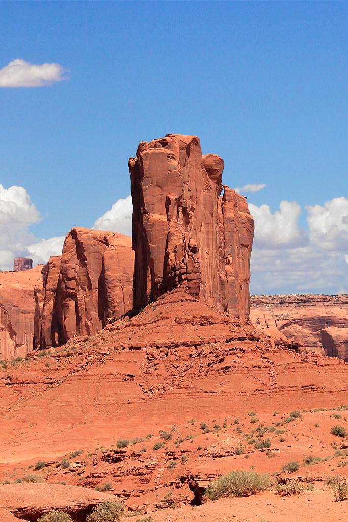 Mirador al Elephant Butte, otro de los lugares que ver en Monument Valley