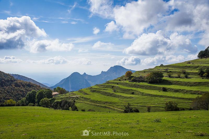 El Pla de l'Orri y el Sobrepuny