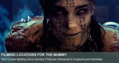 Dónde se rodó La momia