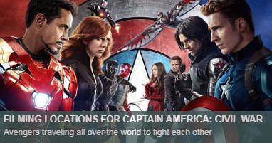 Dónde se rodó Capitán América