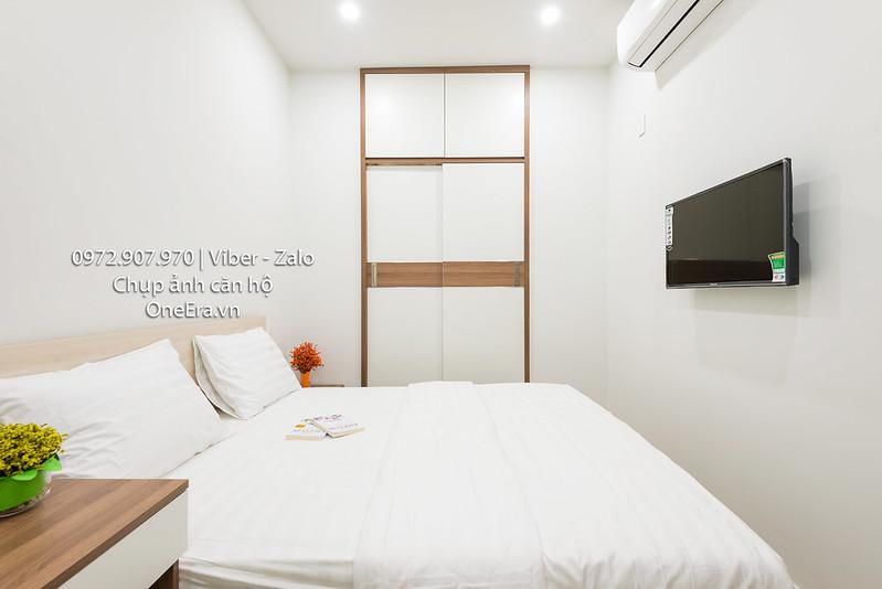 chụp ảnh phòng ngủ nhỏ