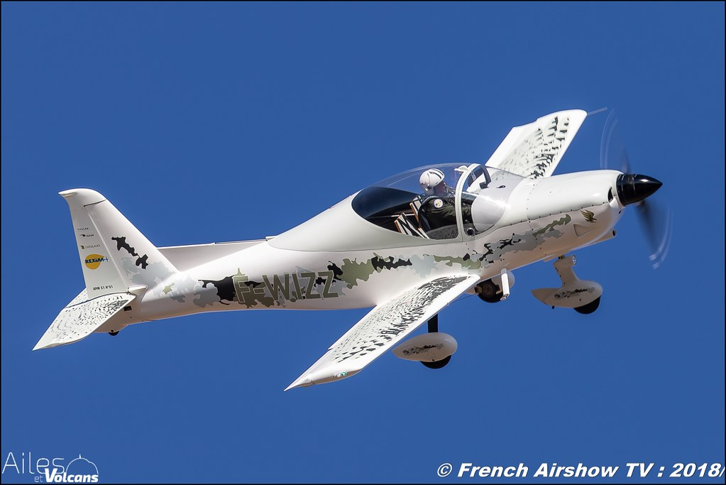 Issoire Aviation APM 51 Cheelaar , F-WIZZ , Ailes et Volcans - Aérodrome d'Issoire - Le Broc , Cervolix 2018 & La Montagne , Canon EOS , Sigma France , contemporary lens , Meeting Aerien 2018