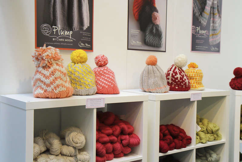 Mrs Moon Yarns at the Knitting & Stitching Show 2018