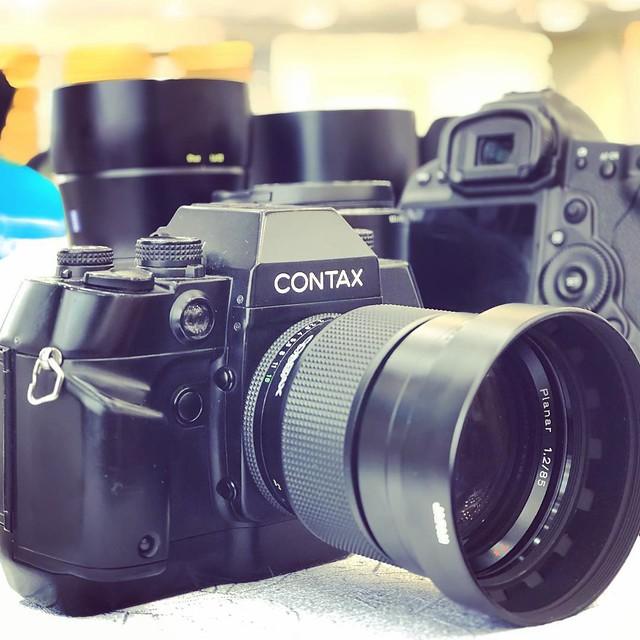 Contax 85mm f1.2 60周年 德國鏡神