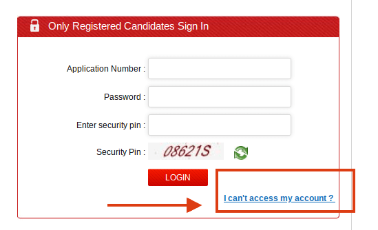 CMAT 2019 Admit Card Password Recovery