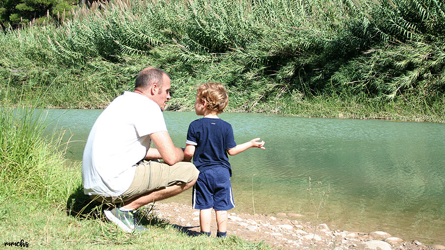 río Mijares senda botánica de Calduch