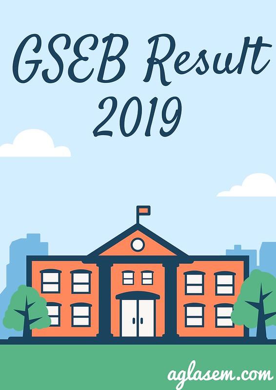 GSEB Result 2019