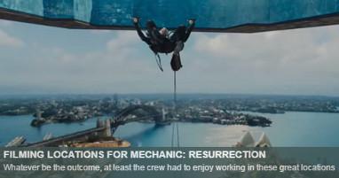 Dónde se rodó Mechanic Resurrection