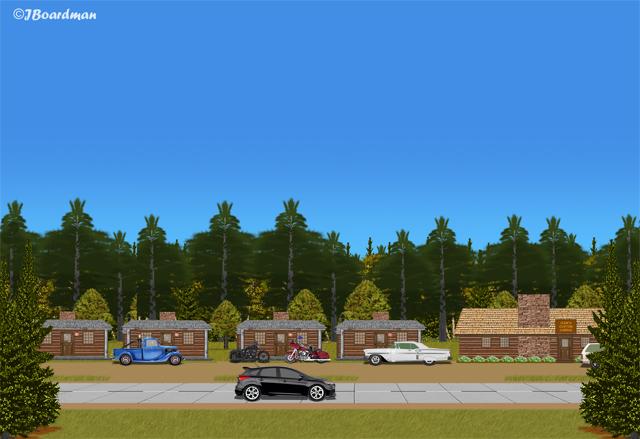 Four more of James Braddock's men arrived at the motel ©J. Boardman