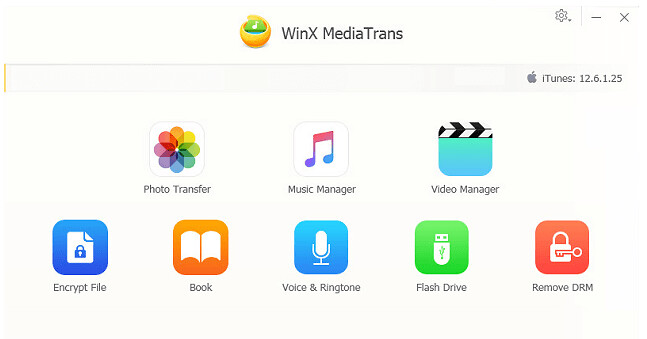 Transfer iPhone Files in Windows with WinX MediaTrans