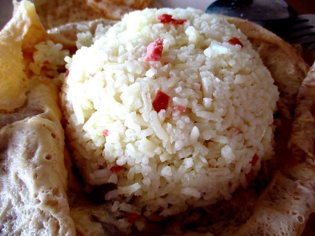 Thomson Corner Pattaya chicken rice, rice