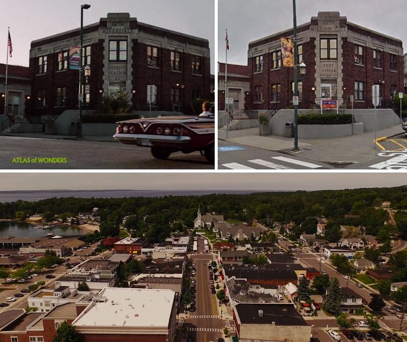 Riverdale shooting locations