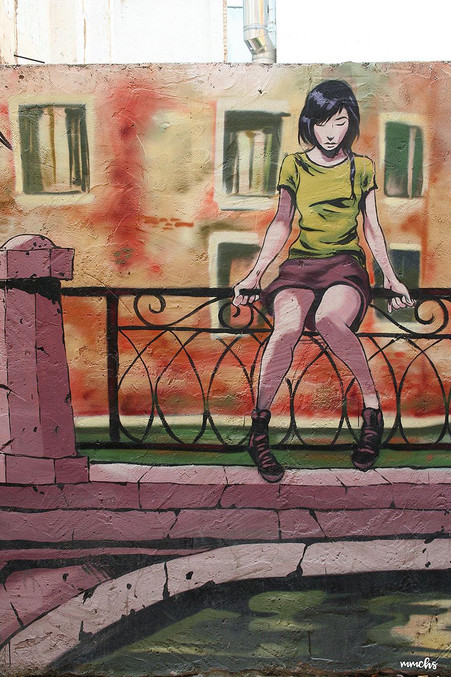 calle de los colores Valencia