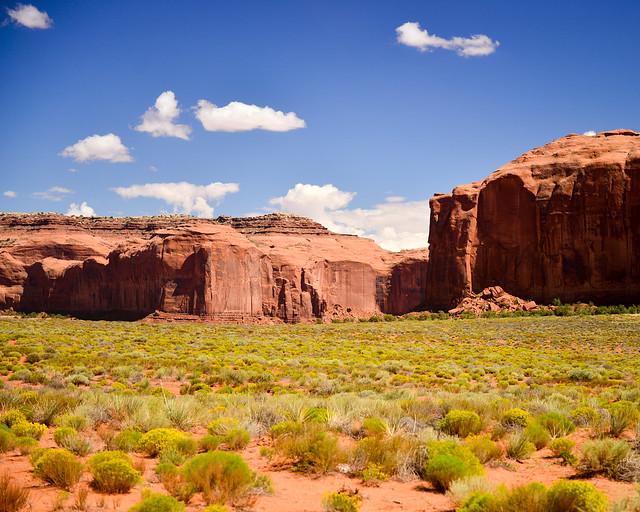 Paisajes desérticos de Monument Valley