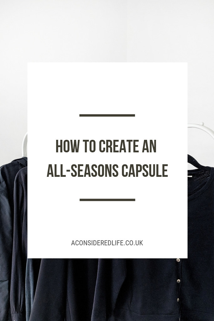 Creating An All Seasons Capsule Wardrobe