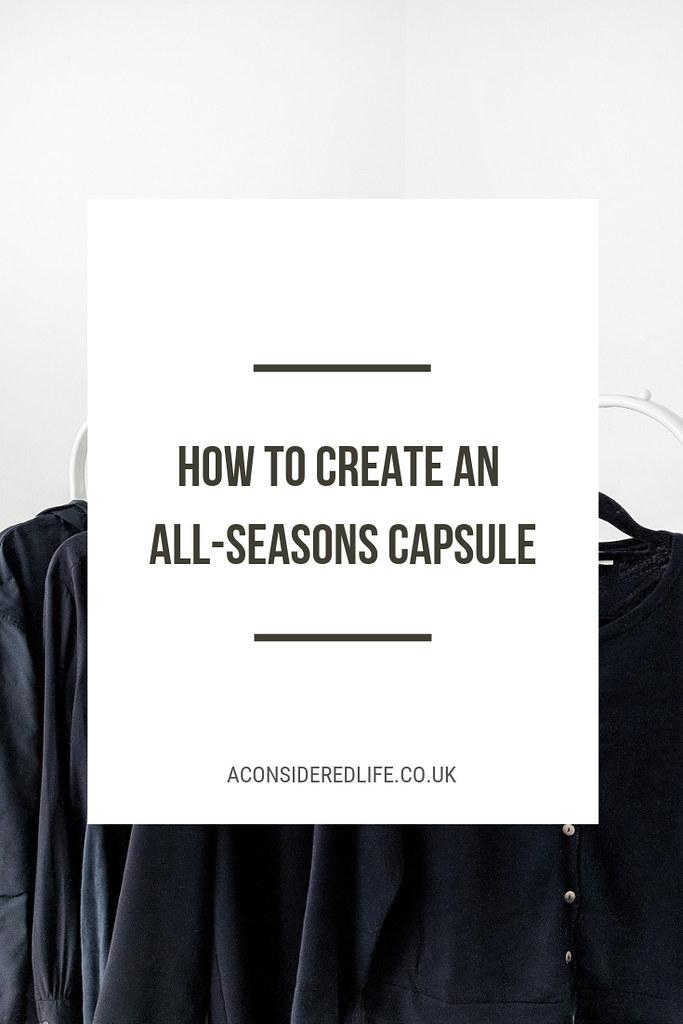 Creating An All Seasons Capsule Wardrobe