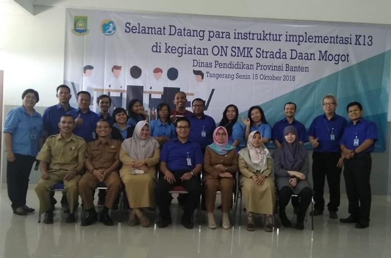 Implementasi K13 di Kegiatan ON SMK Strada Daan Mogot
