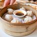 Xiao Long Bao (Chifa) - Steamed glass soup dumpling, crab, pork $12
