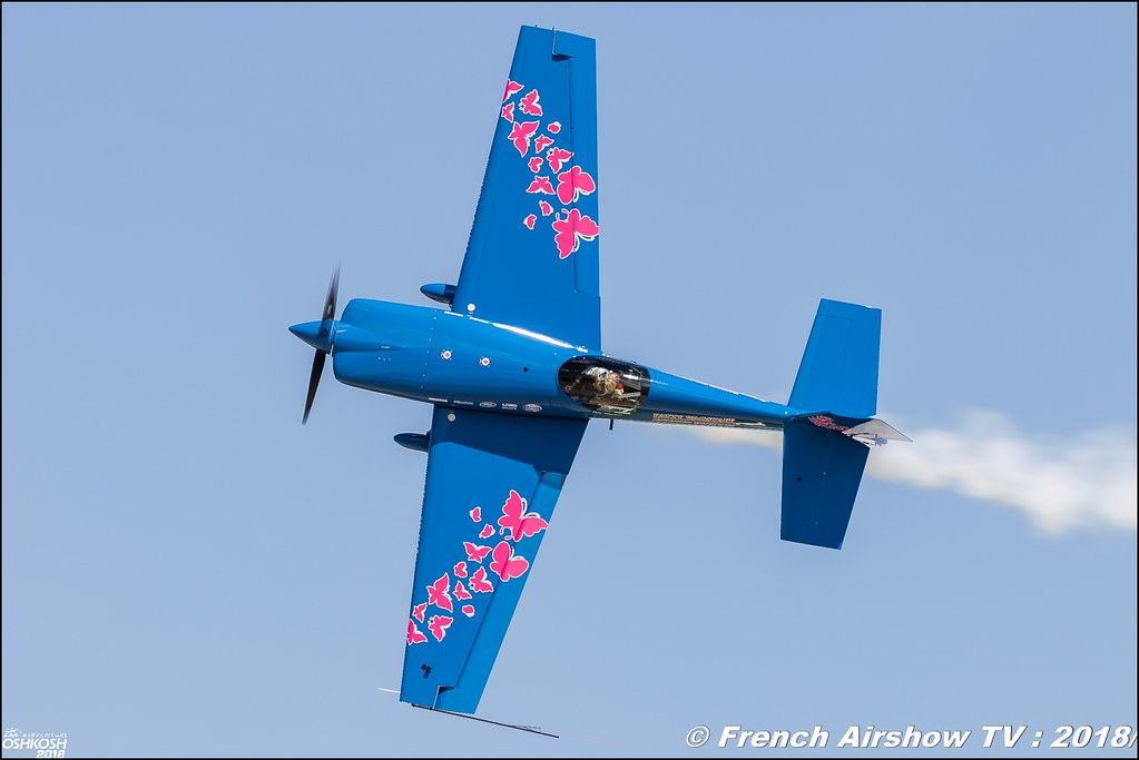 Extra 330S Patty Wagstaff EAA AirVenture Oshkosh 2018 Wisconsin Canon Sigma France contemporary lens Meeting Aerien 2018