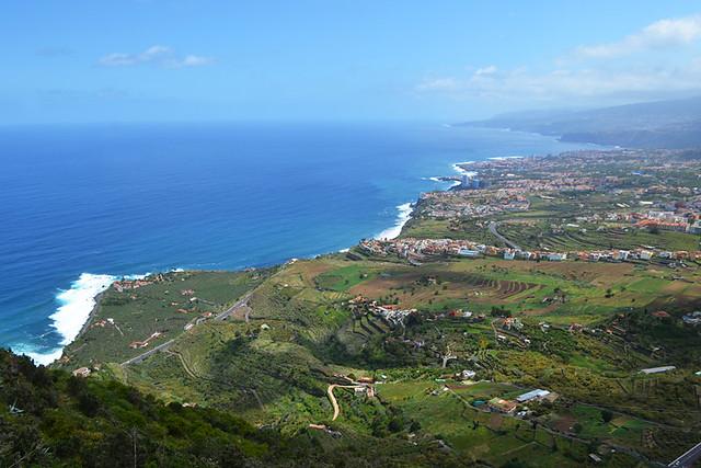 View from Tigaiga ridge, Tenerife