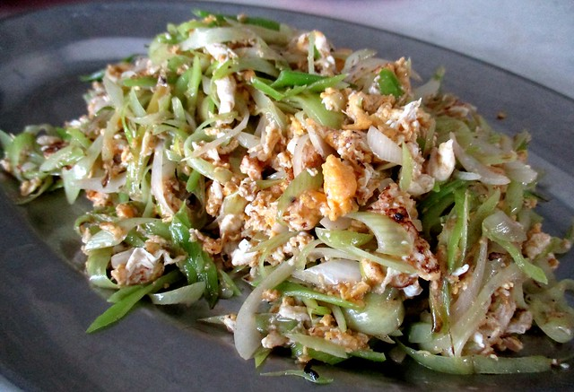 Kiong Chuong fried leek with egg