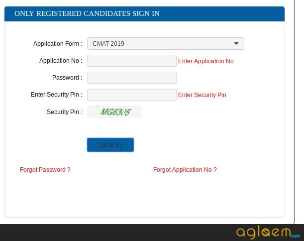 CMAT 2019 Answer Key
