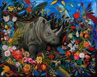 Rhino by Robin Hextrum