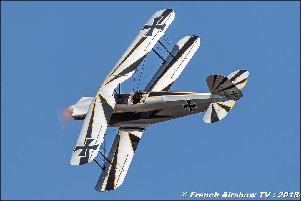 F-PBSE - Bücker 131 Jungmann , Meeting aérien Des Étoiles et des Ailes 2018 - Aéroport de Toulouse Francazal , Canon EOS , Sigma France , contemporary lens , Meeting Aerien 2018