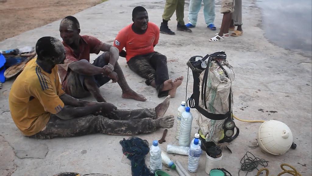 坦尚尼亞還有非法的炸魚行為。來源:SmartFish影片截圖