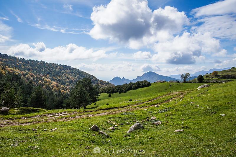 Pla de l'Orri y el Sobrepuny