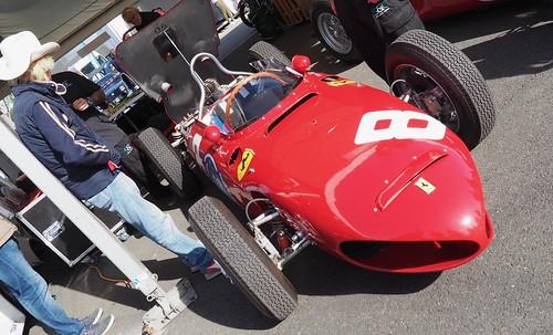 "Ferrari 156 Formula One ""Sharknose"" 1961 and Arturo Merzario 30064760177_31d4b63ac9"