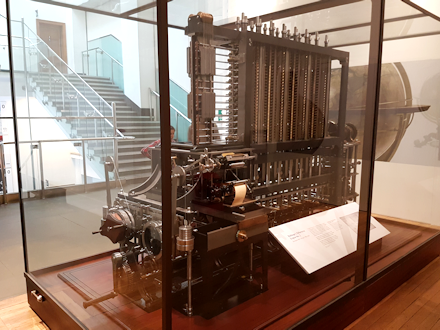 Babbage's Difference Engine No. 2
