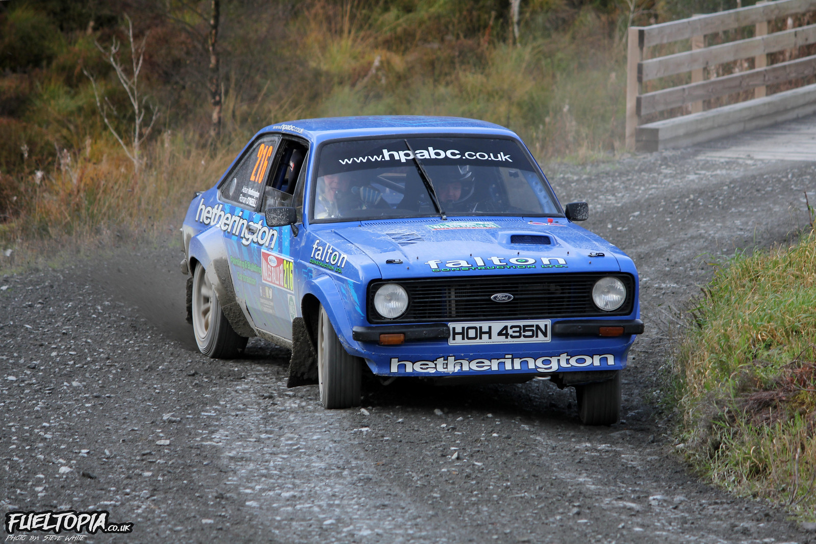 Ford Escort National Rally GB 2018 WRC World Rally Championship