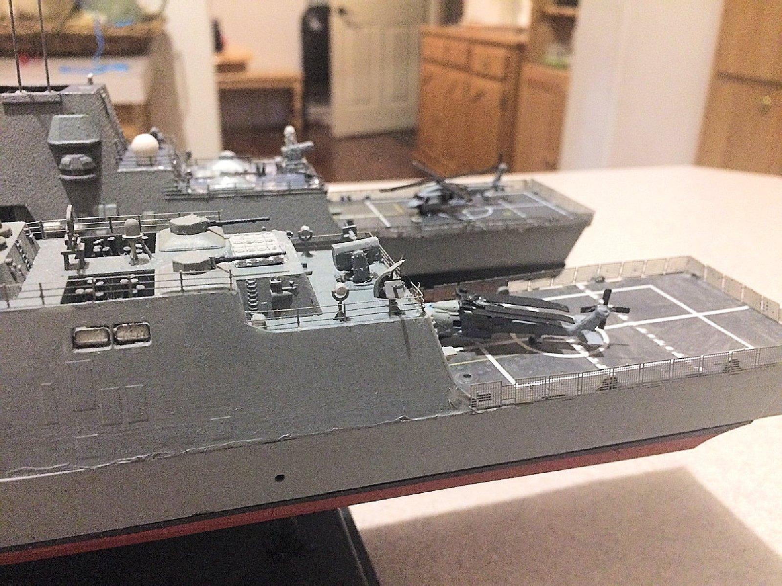 US Navy FFG(X) (Lockheed Entry) In 1/350 Scale By Dutch