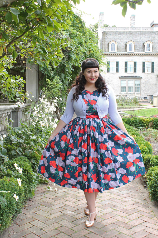 floral dress modcloth